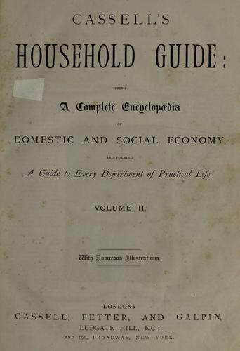 Cassell's household guide by