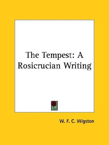 The Tempest by W. F. C. Wigston