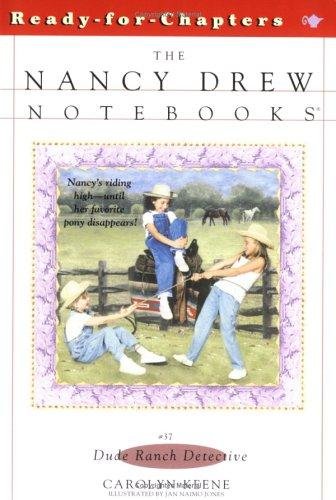 Dude ranch detective by Carolyn Keene