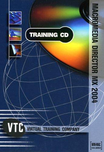 Macromedia Director MX 2004 VTC Training CD by Brian Maxx